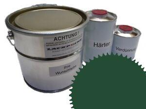3 Liter Set 2K Floor Color Floor Ral 6028 Vinyl-Epoxid-Lack Lackpoint Shine