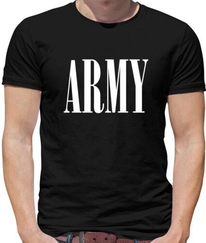 Armée-T-shirt homme-Robe fantaisie militaire soldat