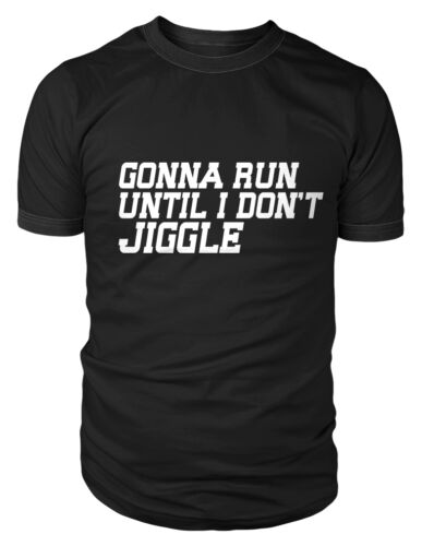 Herren Laufschuhe Fitness T-Shirt Lustig Sport Top Trainieren Freizeit Muss Run