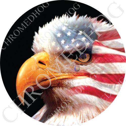 Premium Round 3m Epoxy Gel Domed Decal Or Flat Sticker Usa American Eagle L Ebay