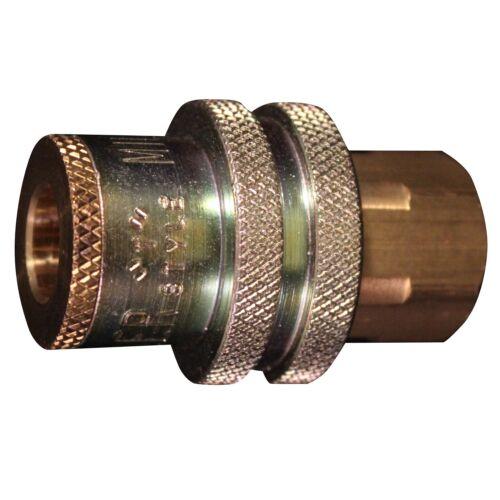 """1//4/"""" Female NPT Milton 787 Sleeve Ring Coupler 1 // 5 T-Style,1//4/"""" Basic Flow"""