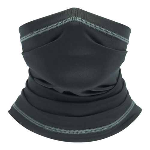 2 PACKS Face Cover Balaclava Scarf Neck Gaiter Cycling Fishing Sun UV Headwear