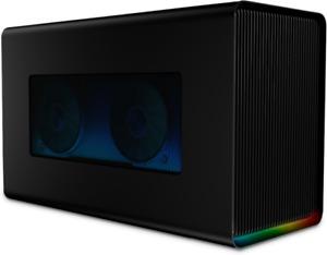 Razer Core X Chroma Thunderbolt 3 External Graphics Enclosure -Black (RC21-01430100-R3B1)