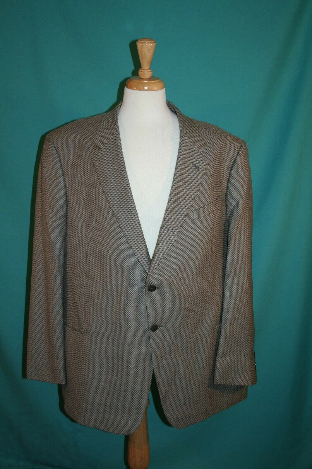 Armani Collezioni Sport Coat Jacket Made In  Wool Silk Two Button 50 50R