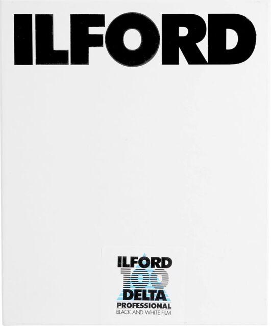 Ilford Delta 100 Black & White 4x5 Sheet Film 100 ISO 25 sheets