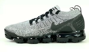 9b18e729b6690 Nike Air Vapormax Flyknit 2  Cookies and Cream  Running Shoes 942842 ...