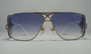 c7a8f8b0a31 Image is loading Cazal-955-Sunglasses-Legend-Color-332-White-Gold-
