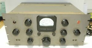 RCA-Distortion-amp-Noise-Meter-MI-7512-All-Stock-And-original-10-Tubes-Unit