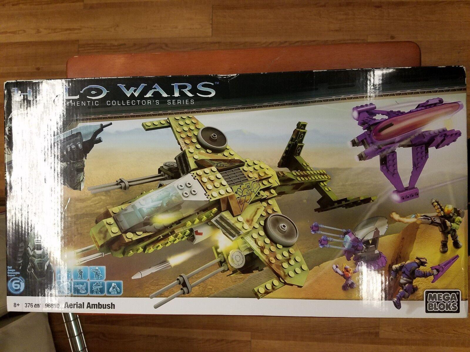Halo Mega Bloks Aerial Ambush 96810  376 pcs.
