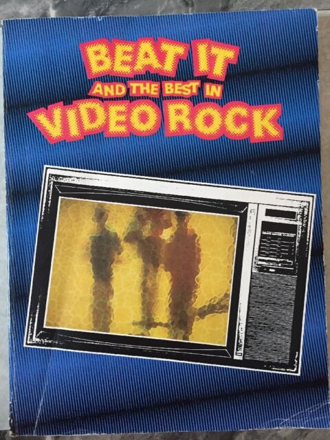 Vintage Piano Book Beat It And The Best In Video Rock 1984