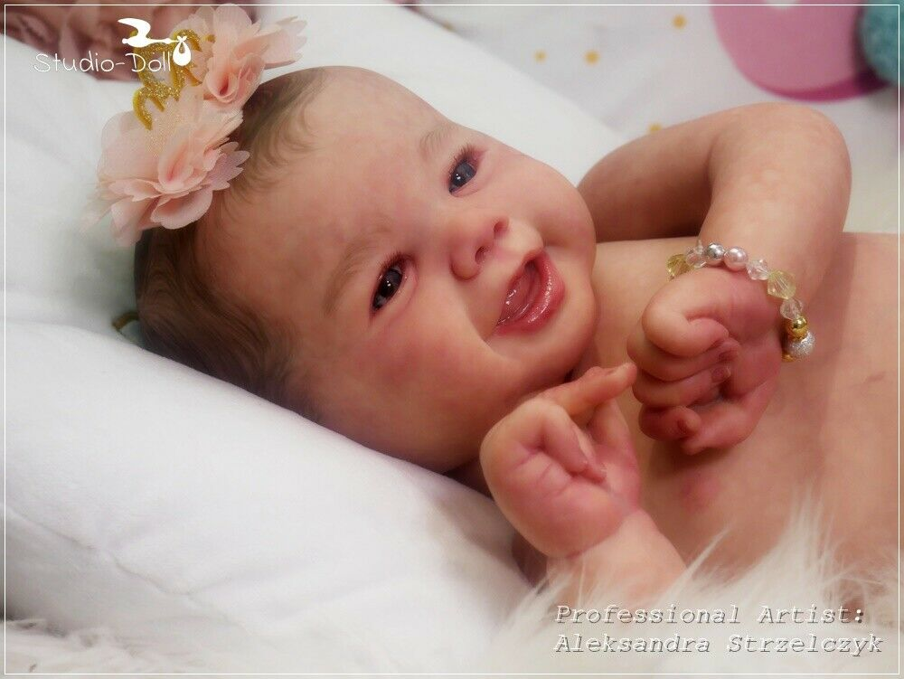 Studio-Doll Baby Reborn girl EMMY by SANDY FABER like real baby