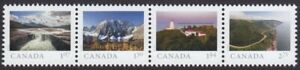 2020-FAR-AND-WIDE-STRIP-OF-4-HV-STAMPS-FROM-SOUVENIR-SHEET-MNH-Canada