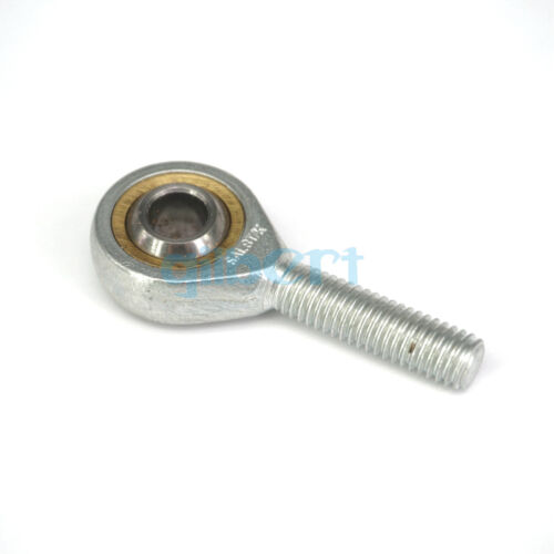 Stainless Steel SSAL6-35T//K Left Hand Rod End Joint Bearing Male Thread