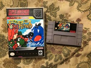 Details about Super Mario World 2: Yoshi's Island (Super Nintendo  Entertainment System SNES )