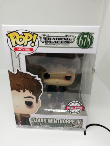 Limited edition 678 una poltrona per due Funko POP Movie Louis Winthorpe III