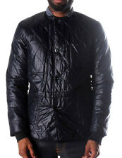 New Mens g star wet look NYLON  shiny reversible blake quilted jacket M