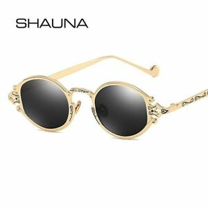 50d8866afee19 Image is loading Small-Gothic-Sunglasses-Vintage-Oval-Steampunk -Metal-Glasses-