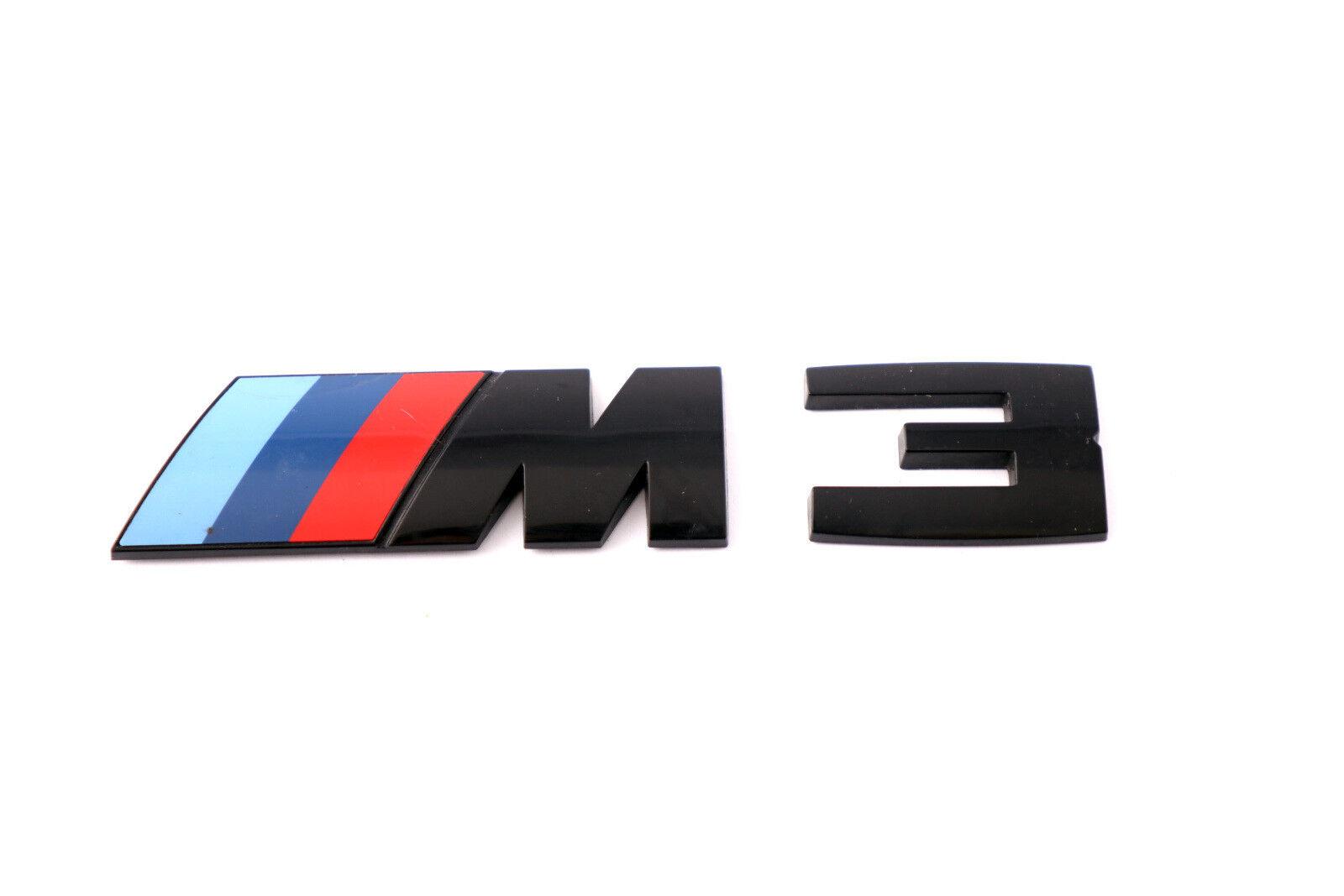 BMW NEW GENUINE F30 F31 3 SERIES M3 BLACK LABEL STICKER BADGE EMBLEM 8068580