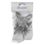 Groves 6 Silver Medium Glitter Butterflies
