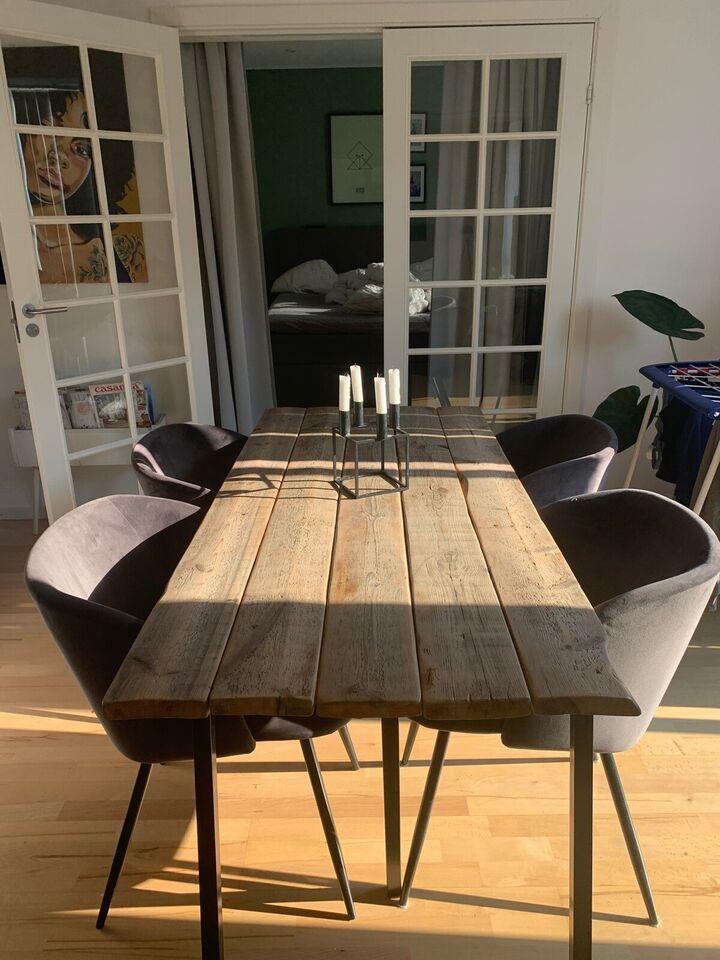 Spisebord, Plankebord, b: 75 l: 163