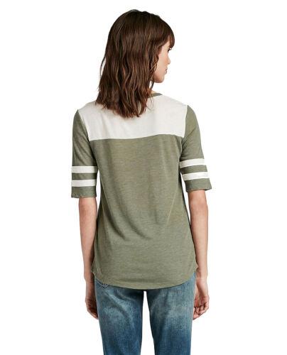Con Stile Brand Righe Nuova Varsity Etichetta Verde Lucky Donna L A pSxIaff