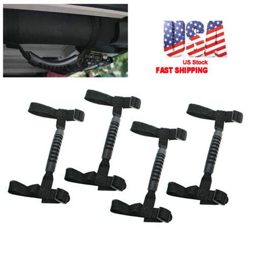 4x Roll Bar Grab Handle Hook Off Road Accessory Fits for Jeep Wrangler TJ JK JL