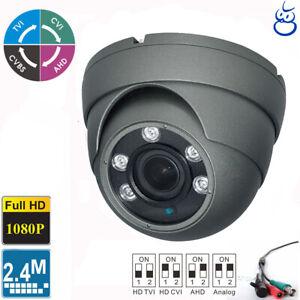HD TVI  2.4MP 1080P 4 IN 1 Bullet Camera 3.6mm Lens 36 IR Sony CMOS Outdoor