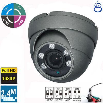 Varifocal 2.8-12mm 36 IR HD TVI 1080P Dome Metal Camera 2.4MP HDTVI Sony CMOS