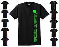 Motocross T Shirt Just Ride Moto Mx Dirt Bike Supercross S-m-l-xl-xxl-3xl-4xl