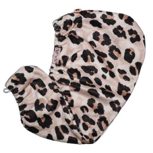 Quick Dry Luxury Spa Quality Leopard ♡ Kitsch Microfiber Hair Towel