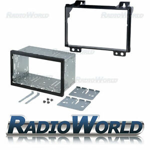 Ford-Fiesta-Fusion-Fascia-Panel-Doble-DIN-Kit-de-montaje-de-jaula-de-la-placa-de-adaptador