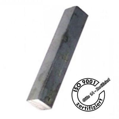 Zuschnitt D 12mm Vierkant 500mm lang Baustahl S235JR