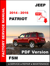 jeep patriot 2011 2016 factory service repair manual ebay rh ebay com 2010 jeep patriot service manual free pdf Jeep Patriot Manual Transmission Review
