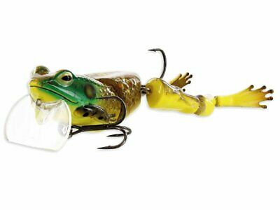 "Westin Fishing Freddy The Frog 1 5//8oz Wakebait HUGE 7.25/"" Pike Muskie Bass Lure"