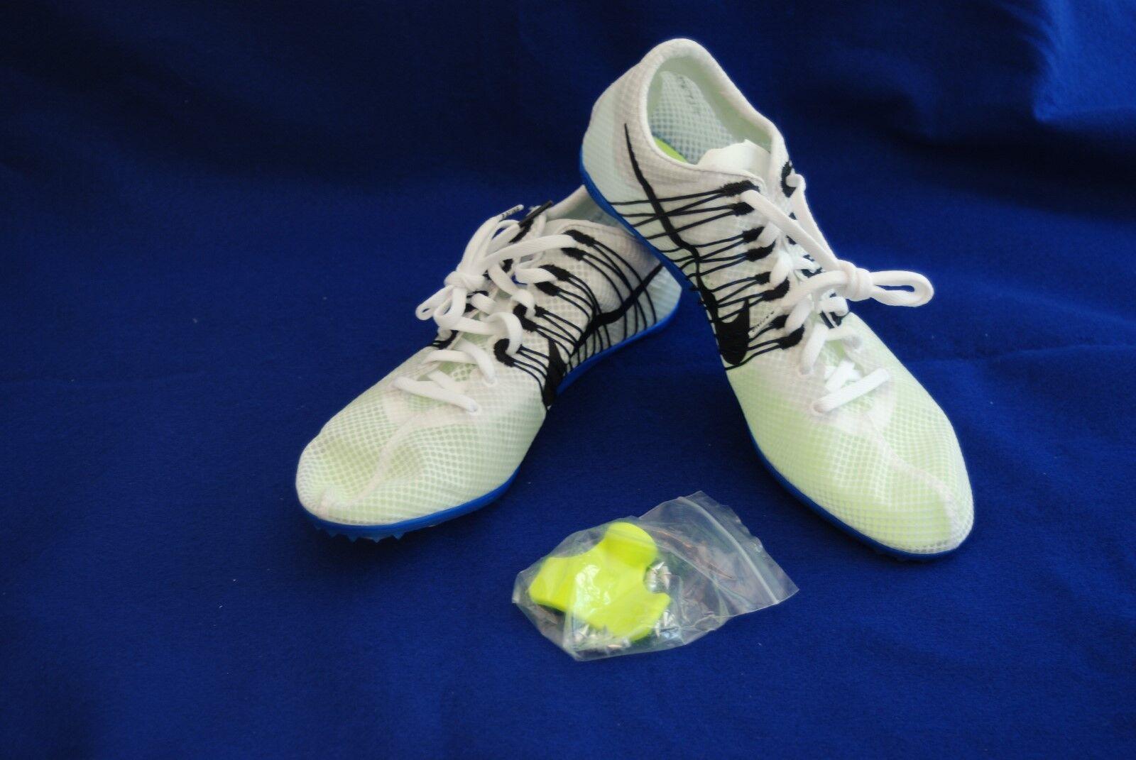 d5961793d8c9d Nike Zoom Victory 2 Hombre Track Spike unisex marca de de de descuento  555365-100 blanco negro comodo fc0374