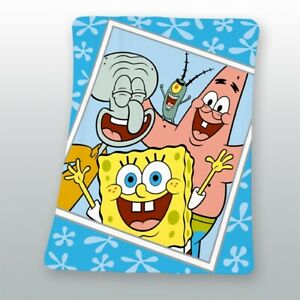 Decke-Spongebob-Squarepants-blau-130x160-cm
