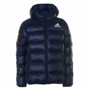 adidas-Kids-Boys-Padded-Jacket-Junior-Puffer-Coat-Top-Lightweight-Hooded-Water