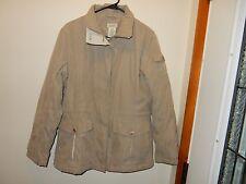 Classic Element Tan Coat Jacket, Size M **Great Condition