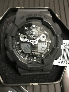 Casio G-Shock GA-100CF-8A Camouflage Serie Dial World time Magnetic ... 7571d4a55180