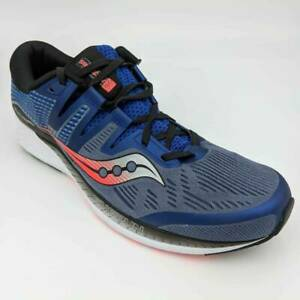Saucony-Mens-Everun-Ride-ISO-Running-Sneakers-Blue-Shoes-S20444-3-Size-14