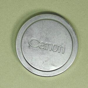 Vintage-Canon-Rangefinder-Lens-Cap-57mm-For-50mm-F1-2-RF-Lens-Metal-type-1