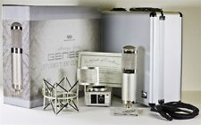 MXL GENESIS Heritage Edition TUBE Studio Mic Set Factory Sealed Retail Box