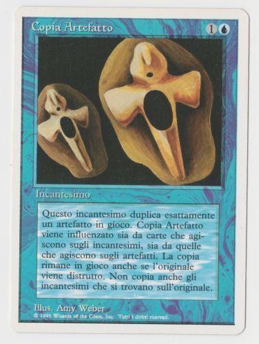 Copy Artifact x1 FWB Magic ITALIAN 1x MTG Near Mint RESERVED LIST