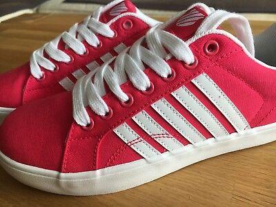 * ●✿⊱ Ƹ ӝ ʒ K-swiss Sneaker ✿ ✿ Nuovo ✿ Rosa ✿ 37 ✿ Zucchero Ƹ ӝ ʒ ⊰✿● *-mostra Il Titolo Originale