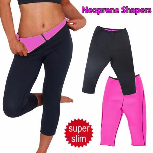 Hot Neoprene Slimming Pants Sport Yoga Workout Sweat High Waist Shaper Pants