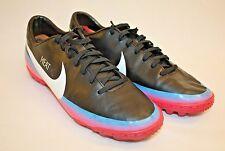 Nike Mercurial Victory III CR TF Black Blue Glow Pink Mens Soccer Cleats Sz 6.5M