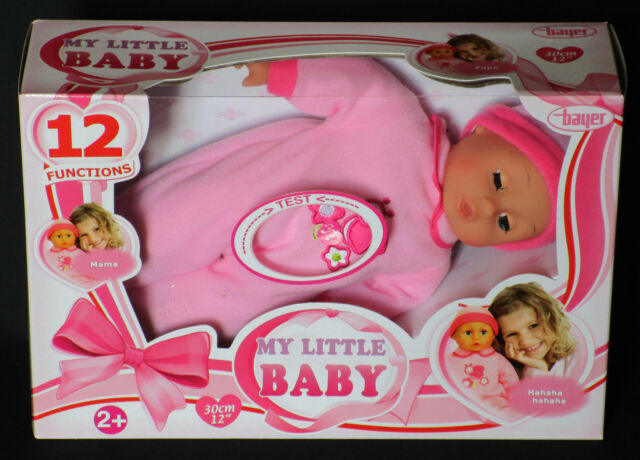 Bayer Design 93007 - Baby Puppe mit Sound, 30 cm