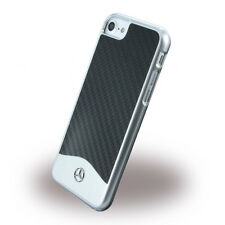 iPhone 7 Hülle Mercedes-Benz [REAL CARBON] Wave V Carbon + Aluminium Case Cover