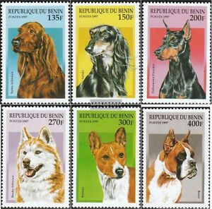 Topical Stamps Stamps Benin 936-941 Mint Never Hinged Mnh 1997 Breeds