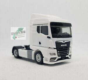 Herpa-311960-MAN-TGX-gm-tractor-blanco-1-87-construiste-transformacion-adecuado